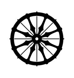 The wheel dharma dharmachakra vector