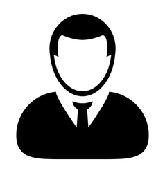 User Icon - Man - Human - Businessman Avatar vector