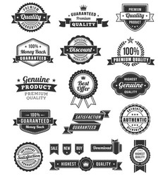 web design banners and elements vector image
