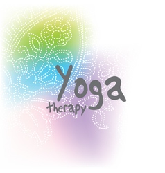 Yoga - background with copy space vector image