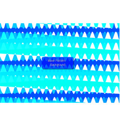 zigzag blue pattern in vector image