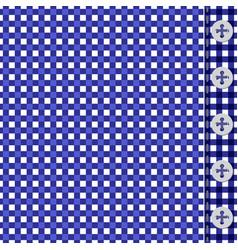 blue shirt texture vector image vector image