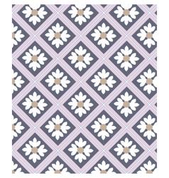 Chamomile ornament pattern vector image