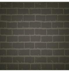 brick wall at night vector image
