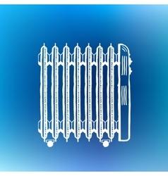 Retro handcrafted design element vector image vector image