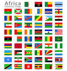 african countries vector image