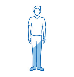 Character man male portrait people vector