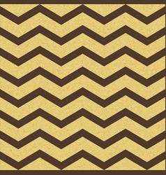 gold glittering chevron wave seamless pattern vector image