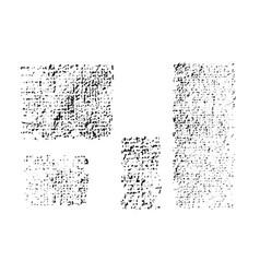 monochrome texture fabric canvas vector image