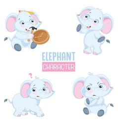 of cartoon animal vector image