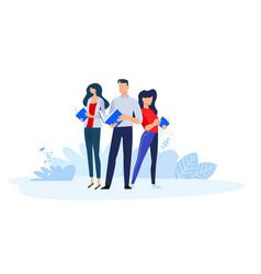 our teachers vector image