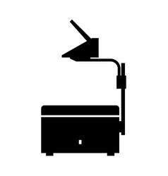 Overhead projector vector