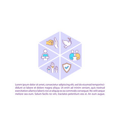 Peace and unity concept icon with text vector