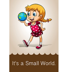 Small world vector