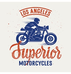 Superior motorcycle 005 vector image vector image