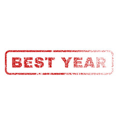 best year rubber stamp vector image vector image