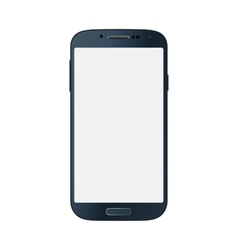 Black business mobile phone style isolated on vector image