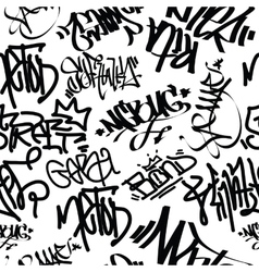 Graffiti Art Seamless Pattern vector image vector image