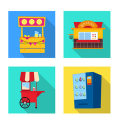 Amusement and store logo vector