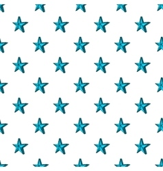 Big star pattern cartoon style vector