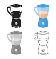 Blender icon in cartoon style isolated on white vector