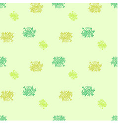 floral hand drawned seamless bacground vector image