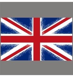Grunge Flag of United Kingdom vector