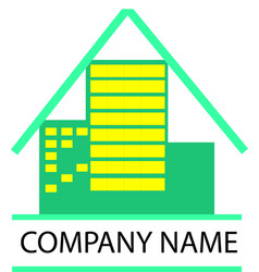 logo of company business vector image