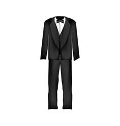 Male suit or tuxedo icon image vector