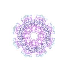 Mandala texture decoration ornament vector