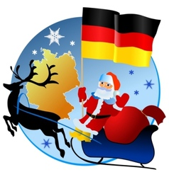 Merry Christmas Germany vector