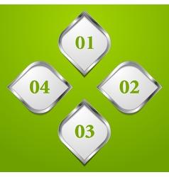 modern tech design template vector image