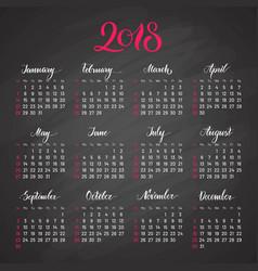 scheduler 2018 dark background lettering flat vector image