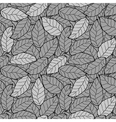abstract foliage leaf seamless background vector image