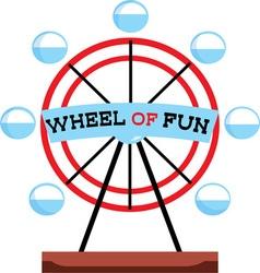 Wheel Of Fun vector image