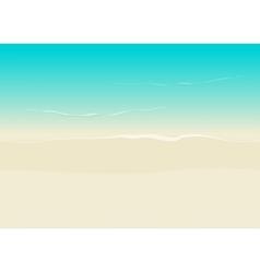 Beach background seamless sea coast and sand vector image
