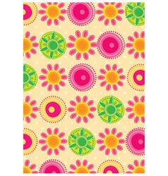 Floral pastel backgrounds vector image