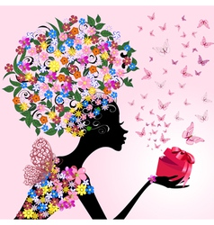 romantic gift vector image