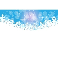 Abstract Beauty Christmas and New Year Background vector image