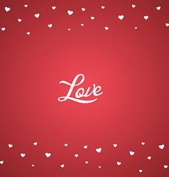 happy valentine greetings vector image