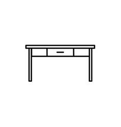 table icon vector image