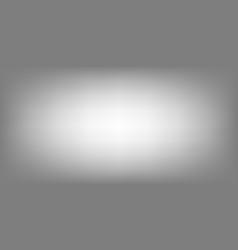 White grey horizontal background gradient studio vector