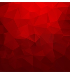 Abstract red geometric triangle background vector