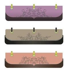 stylish banners for web sites vector image