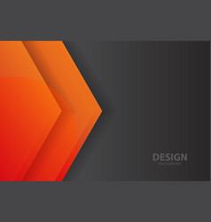 Abstract background banner with color creative vector