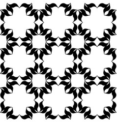 Black and white pattern vector