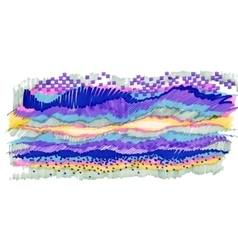 Colorful abstract felt-tip pen stripes texture vector