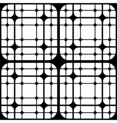 Repeating Geometric Tiles Squares Seamless Pattern vector image