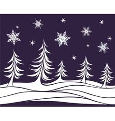 Seamless element Christmas background vector image