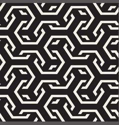 seamless interlacing lines pattern vector image
